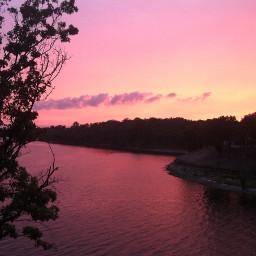 pcsunset sunset nofiltersneeded endofsummer lake