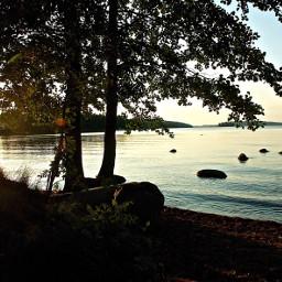 pcsunset sunset nature sun lakeside