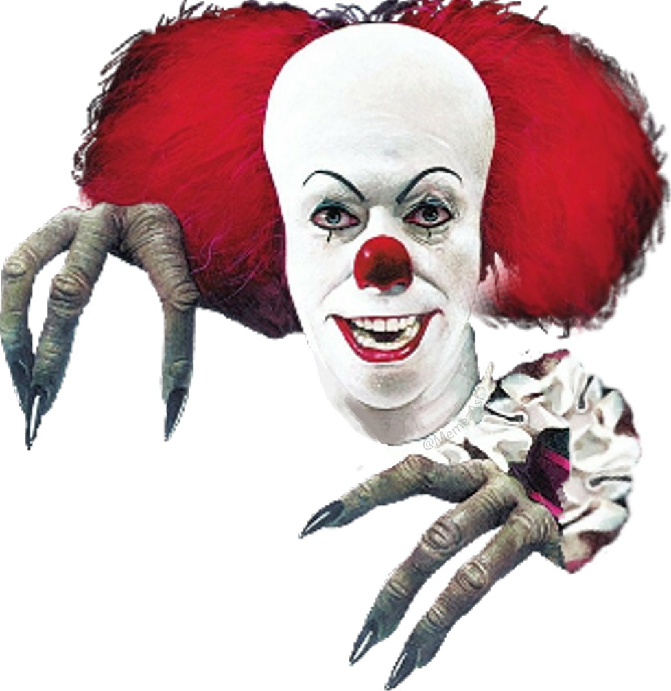pennywise it itmovie evil clown lover monster