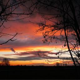 pcsunset sunset italy italia countryside freetoedit
