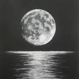 mydrawing handdrawing moon nigth moonlight