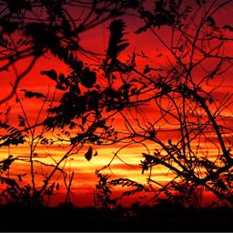 sunset italy italia sunlight red freetoedit