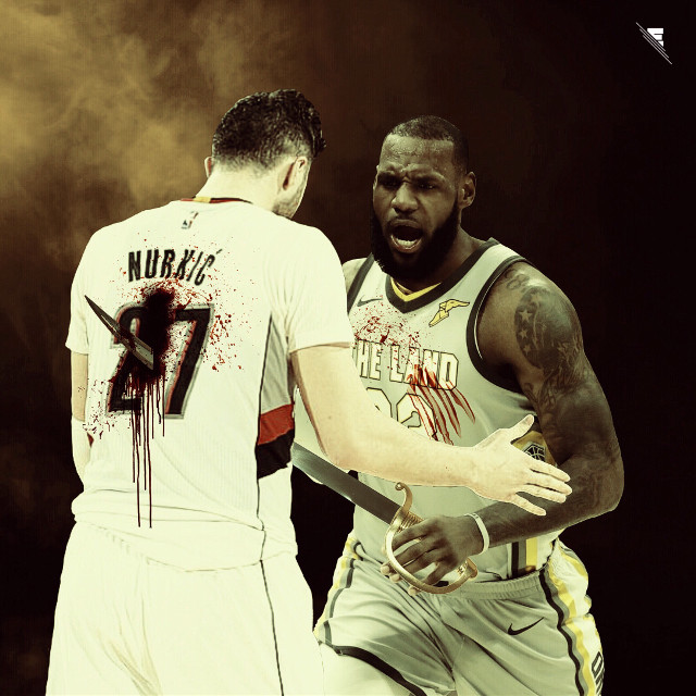 LeBron murdered Nurkic 💥 #THATSLAM - #madewithpicsart #freetoedit #usa #nba #basketball #picsart #art #nbaedits #design #today #tuesday #sports #f4f #follow4follow