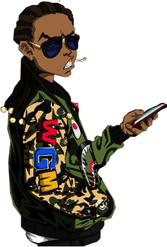 Popular and Trending boondocks Stickers on PicsArt
