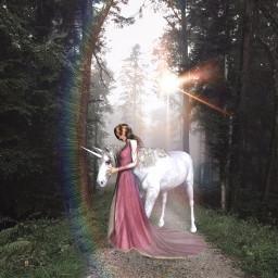 freetoedit unicorn mystic princess ircmysticallymisty