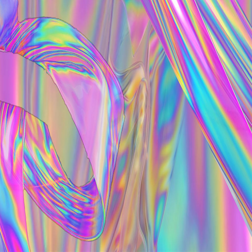holo iridescent holographic tumblr vaporwave aesthetic