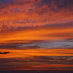 freetoedit aircraft evening sunset photography