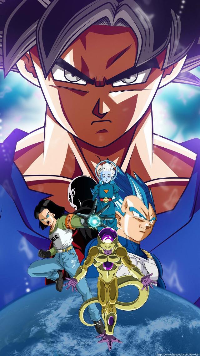 #freetoedit #DragonBallSuper #DBS #Veguetta #Goku #17 #Freezer #daishinkan #Jiren