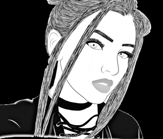 Tumblr Girl Black White Brancoepreto Tumblrgirl