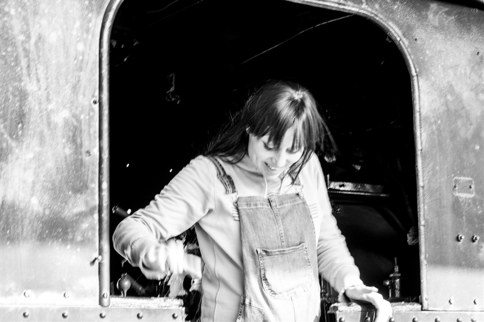 #trains are #somethingspecial especially #oldtrain #me during #pregnacy #picture made by a friend #mel #beingphotographed
