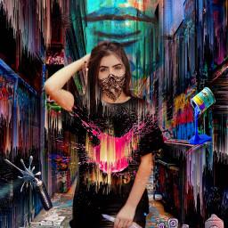 freetoedit multimediaart mixedeffecs graffitiart streetart