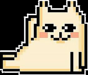 ftestickers cat pixelart freetoedit