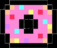 ftestickers donuts pixelart freetoedit