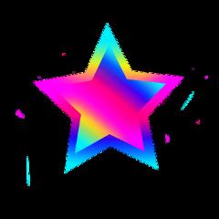 freetoedit stars star rainbow png