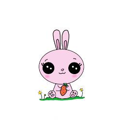easter bunny easterbunny kawaii adorable freetoedit