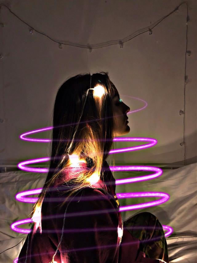 #freetoedit #girls #magic #led #like4like