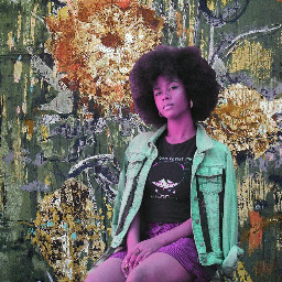 collage moodboard colors aesthetic afro
