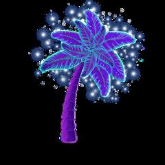 oceanlove palmtrees poparteffect sparkles sparkling freetoedit