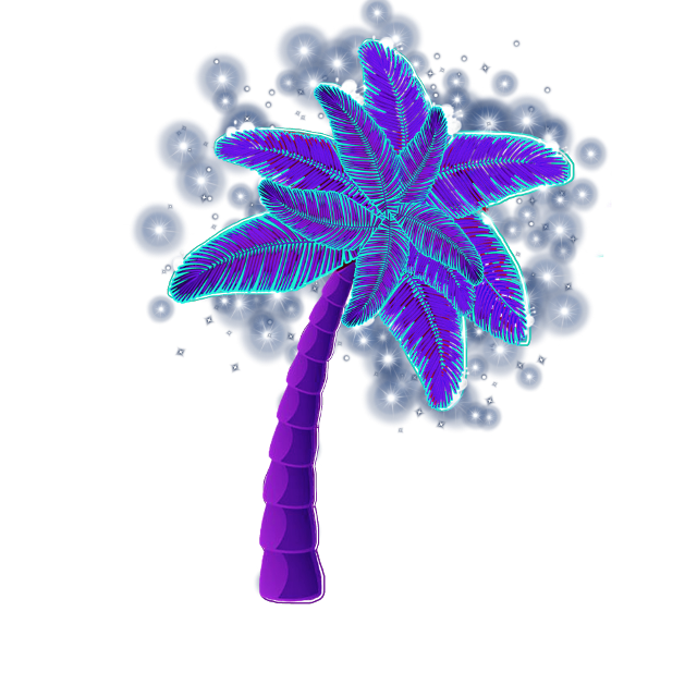 #oceanlove #palmtrees #poparteffect #sparkles #sparkling #anoukodesign #anouko