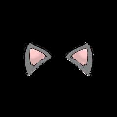 stickers cat ears earscat earscats freetoedit