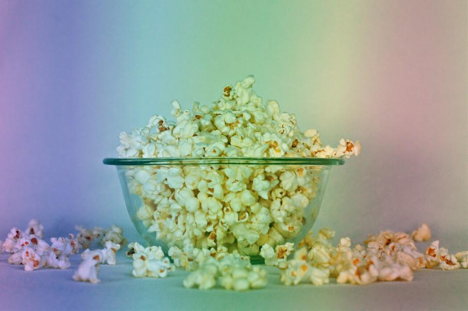 #freetoedit #popcorn #edit #rainbow #bowl #amazing