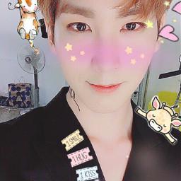 teddybear42501 myedit shinwon pentagon cute freetoedit