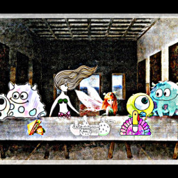 thelastsupper freetoedit lastsupper