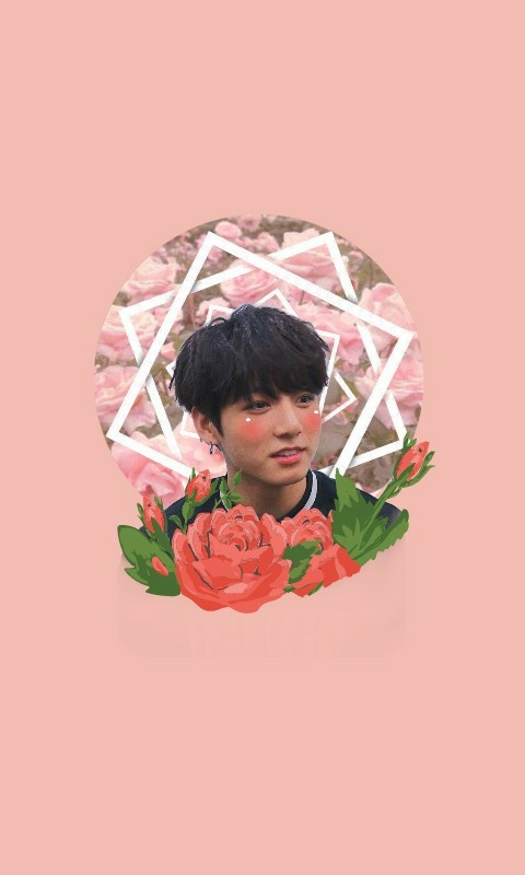 #freetoedit #jungkook #pink #roses #bts #flowers #cute