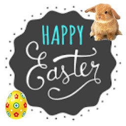 freetoedit happyeaster bunnystickers