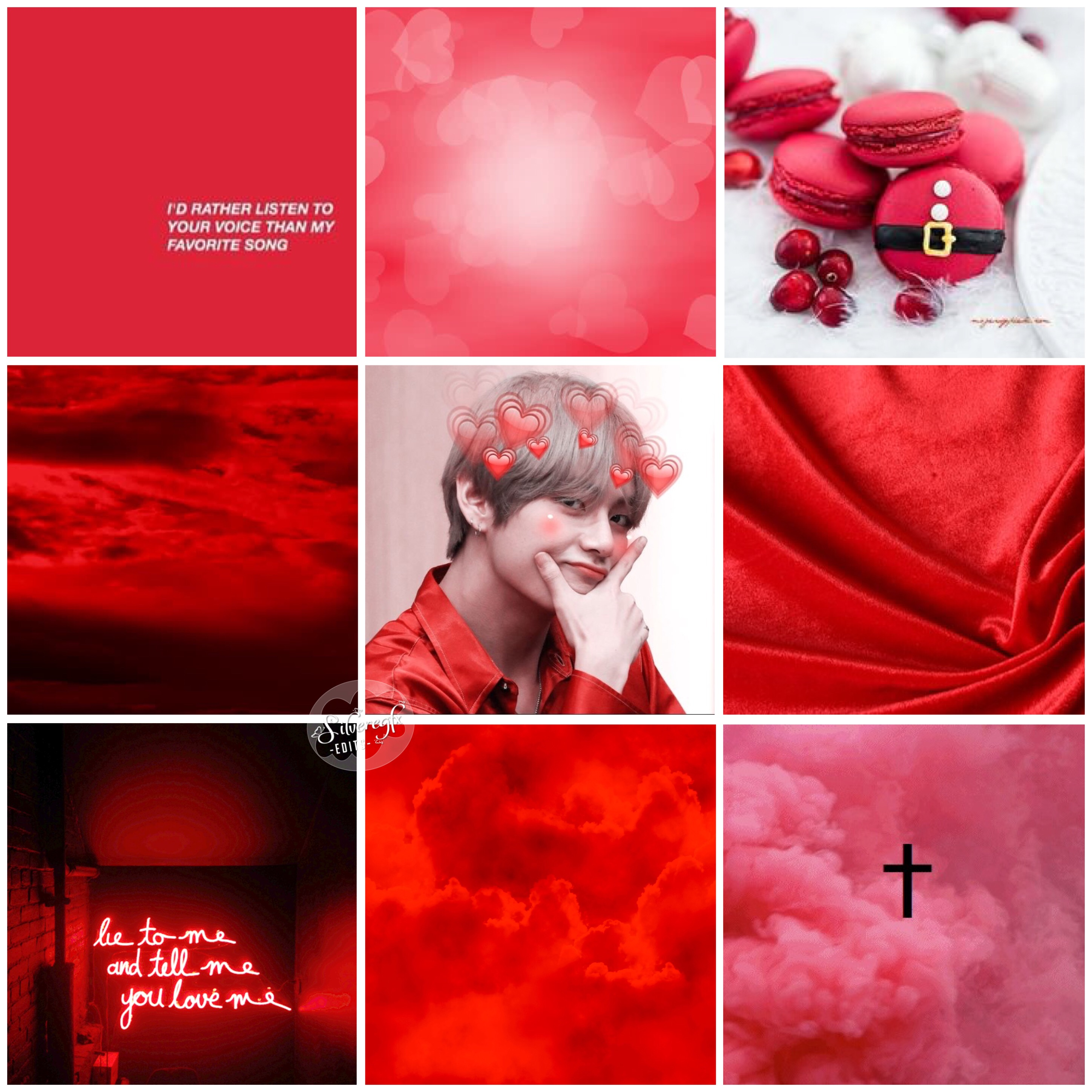 Pastel Red V Aesthetic Chimmy Chimmycloudcontest