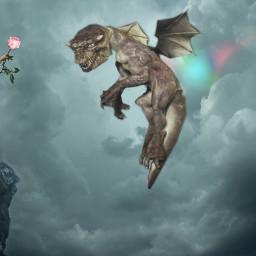 freetoedit dragon gril
