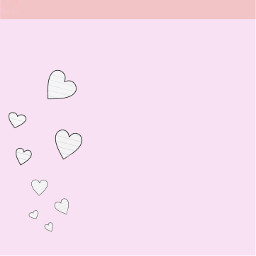 freetoedit background pink hearts cute