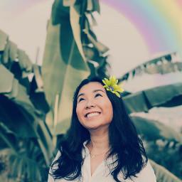 freetoedit rainbow paradise positive hawaii