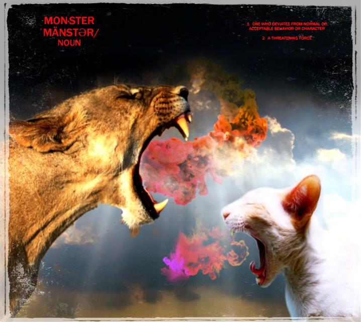 #freetoedit #meow#roar 😸