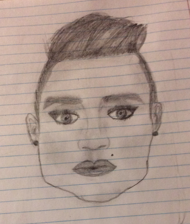 Brendon urie as a women