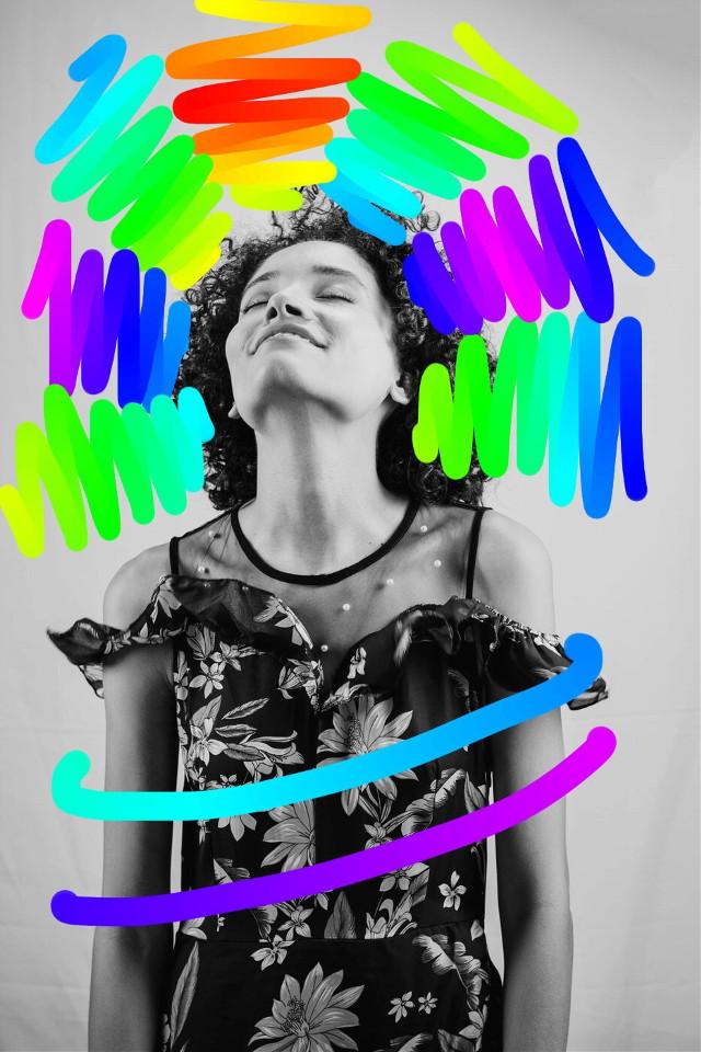#freetoedit #rainbowbrush #brush #rainbowhear #sunny