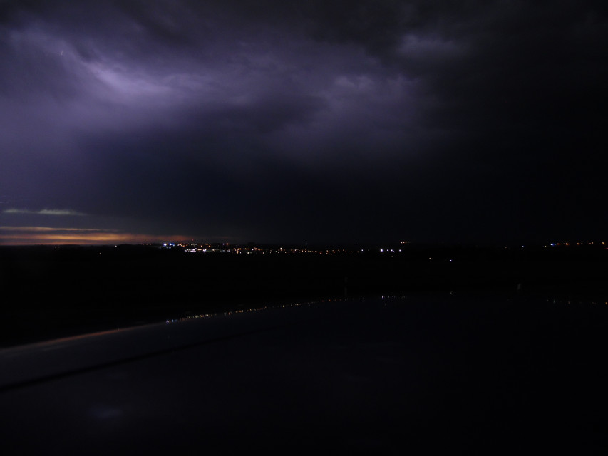 #landscape #nature #thunder #rain #night