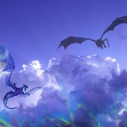 freetoedit art dragonart dragon dragons