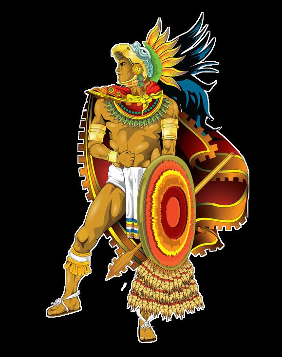 Azteca Aztec Warrior Guerrero