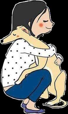 #lovedogs #dogs #mascotas #animals #love #amor #hugs #abrazos #kiss #perro #pets&animals #lovepure #isagonzl469 #freetoedit