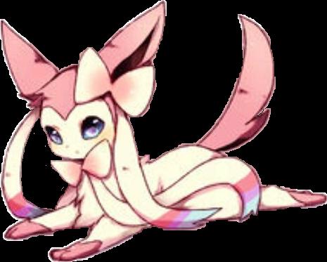 Pokemon Sylveon Kawaii Sticker By Kira