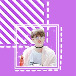 jungkook jeonjungkook bts btsjungkook purple freetoedit