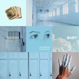 freetoedit 10thingsihateaboutyou babyblue blue aesthetic