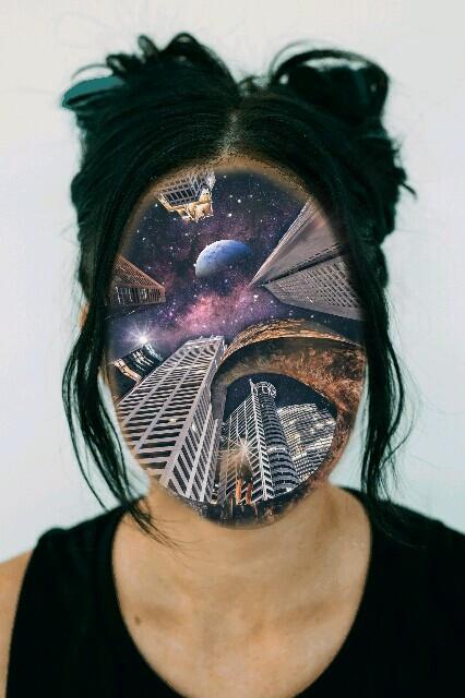 Life is hope :)  #freetoedit #remixit #remixed #glittergalaxy #girl #piscart #art  #city #star #remixme #roses #explore