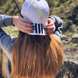freetoedit tumblr girl adidas hair pclonghairdon
