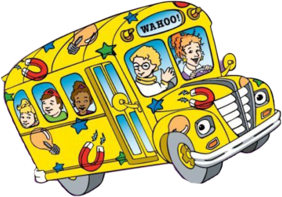 school bus schoolbus magic magicschoolbus tv cartoon rh picsart com magic school bus free clipart