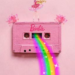 freetoedit barbie barbiegirl pink colorful