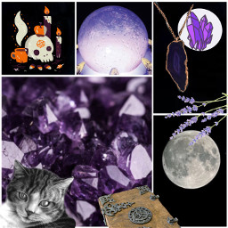 collage witch witchcraft herbs wicca freetoedit