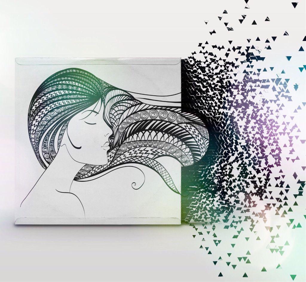 Fade away....  #freetoedit #dispersion #girl #mystickers #edited #picsartcommunity