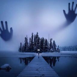 imagination_infocus nature night horror travel scary